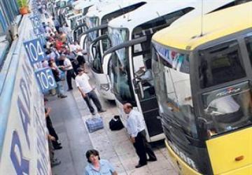 Tren,vapur ve otobüse herkes binemeyecek