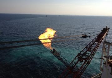 Karadenizde doğalgaz alevi erken söndü