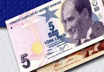 5 liralık banknotların rengi değişti