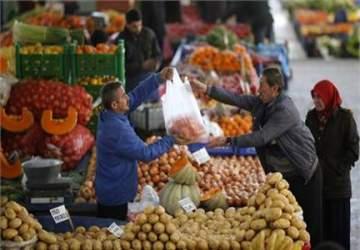 Enflasyon 8 ayın zirvesinde