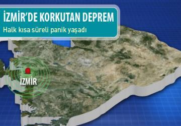 İzmir'de 5.0 şiddetinde deprem!