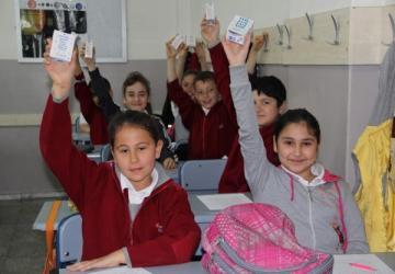 Öğrenciler okul sütlerine kavuşuyor